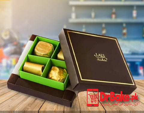 4 Pcs Lals Chocolate Box (Limited Cities) - Dr Bake Pakistan Send gifts to Lahore, Karachi, Islamabad, Pakistan