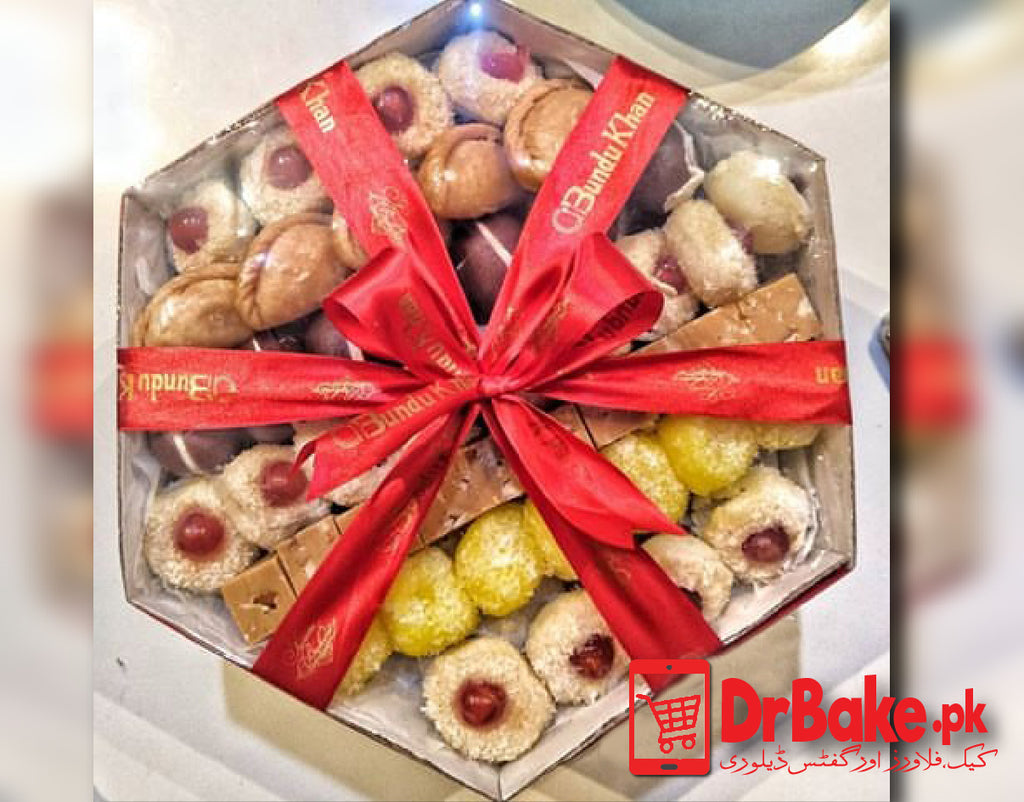 Send 5kg Mix Mithai Tokra - Bundu Khan Sweets To Pakistan | DrBake.pk
