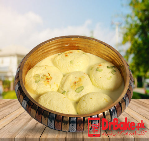 6 Pcs Ras Malai - Dr Bake Pakistan Send gifts to Lahore, Karachi, Islamabad, Pakistan