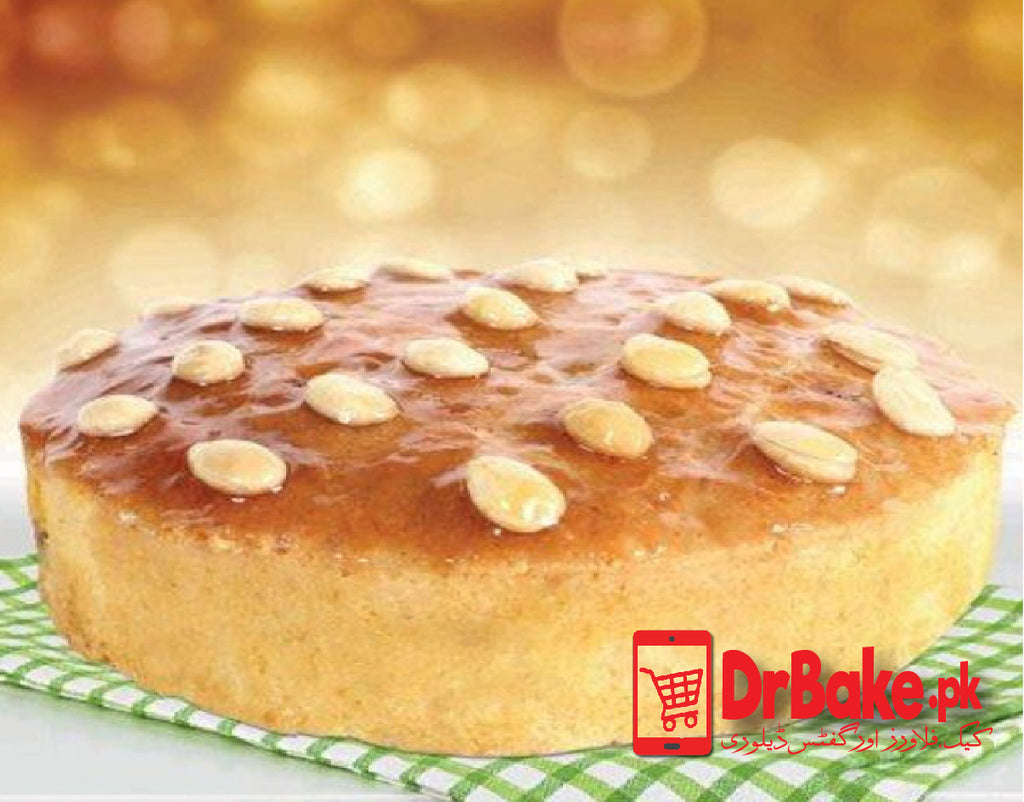 Send Bread & Beyond Almond Syrup Cake to Lahore with DrBake.pk