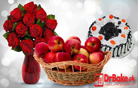 Red Apple deal - Dr Bake Pakistan Send gifts to Lahore, Karachi, Islamabad, Pakistan