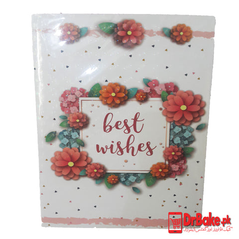 Best Wishes Card - Dr Bake Pakistan Send gifts to Lahore, Karachi, Islamabad, Pakistan
