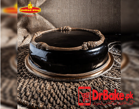 Chocolate Fudge Cake-Karachi-United King Bakery - Dr Bake Pakistan Send gifts to Lahore, Karachi, Islamabad, Pakistan