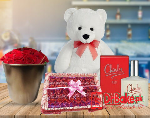 Charlie Perfume Deal - Dr Bake Pakistan Send gifts to Lahore, Karachi, Islamabad, Pakistan