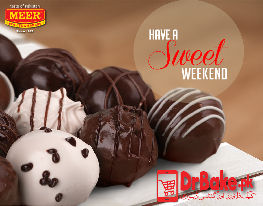 Send 12 pcs Chocolate Bites - Meer Sweets to Pakistan with DrBake.pk