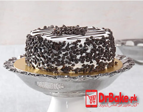 Chocolate chip Cake-Falettis Hotel-Lahore - Dr Bake Pakistan Send gifts to Lahore, Karachi, Islamabad, Pakistan