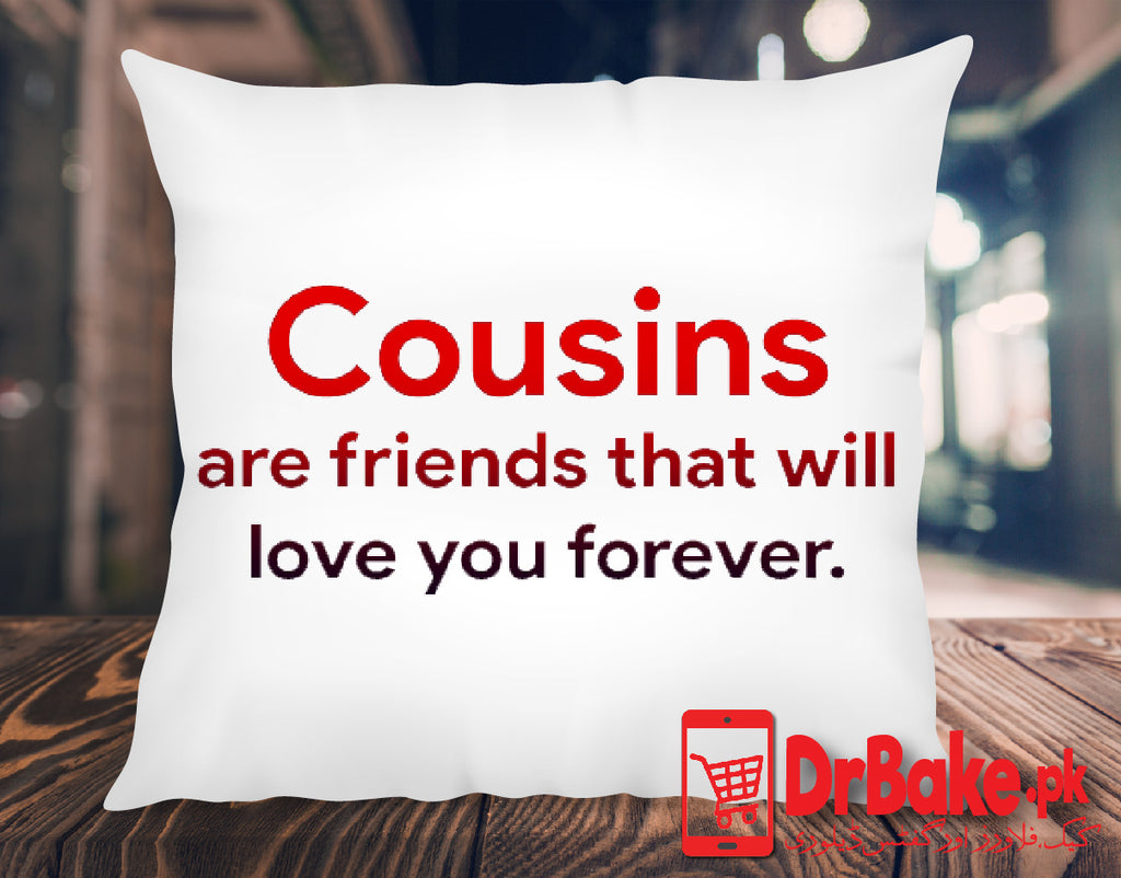 Send Cushion For Your Cousin to Pakistan with DrBake.pk