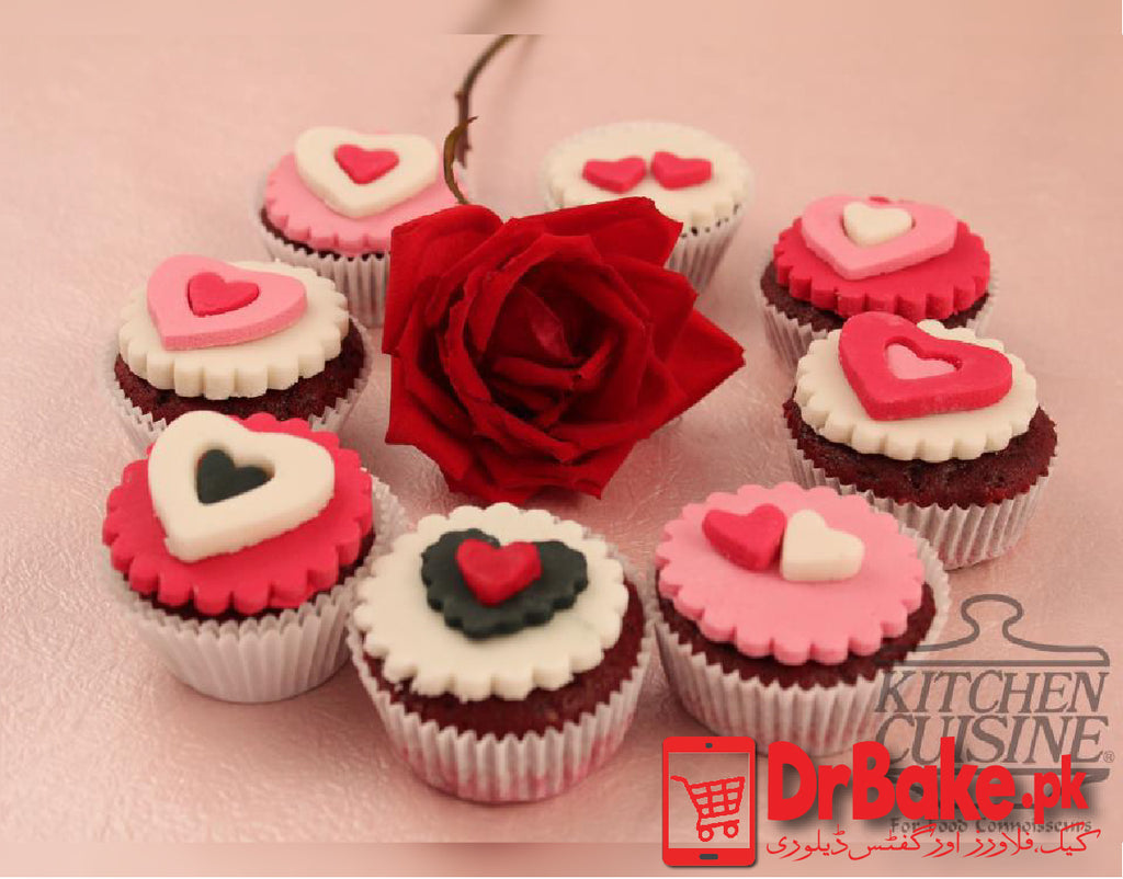Send CupCake 8 pcs Kitchen Cuisine to Lahore with DrBake.pk