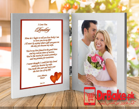 Photo Frame For Couple(Customized) - Dr Bake Pakistan Send gifts to Lahore, Karachi, Islamabad, Pakistan