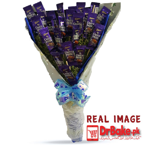 Dairy Milk Bouquet - Dr Bake Pakistan Send gifts to Lahore, Karachi, Islamabad, Pakistan