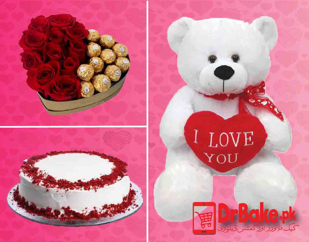 Large Love Deal - Valentine's Day Special - Dr Bake Pakistan Send gifts to Lahore, Karachi, Islamabad, Pakistan