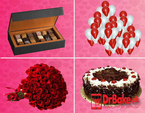 Valentine's Hit Deal - Valentine's Day Special - Dr Bake Pakistan Send gifts to Lahore, Karachi, Islamabad, Pakistan