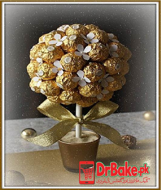 FERRY ROSE Chocolate Tree (Only For Lahore)