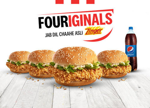 KFC's Fouriginals