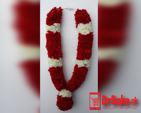 Send Garland (Roses and Tube Roses Garland 2 Feet) To Pakistan | DrBake.pk