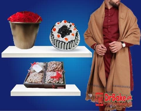 Gents Shawl Deal - Dr Bake Pakistan Send gifts to Lahore, Karachi, Islamabad, Pakistan