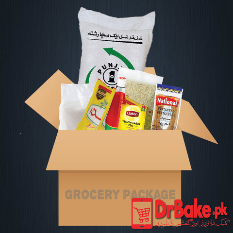 Grocery Package - Dr Bake Pakistan Send gifts to Lahore, Karachi, Islamabad, Pakistan