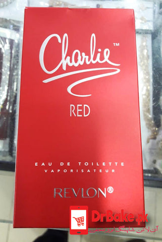 Send Charlie Red Revlon Perfume To Pakistan | DrBake.pk