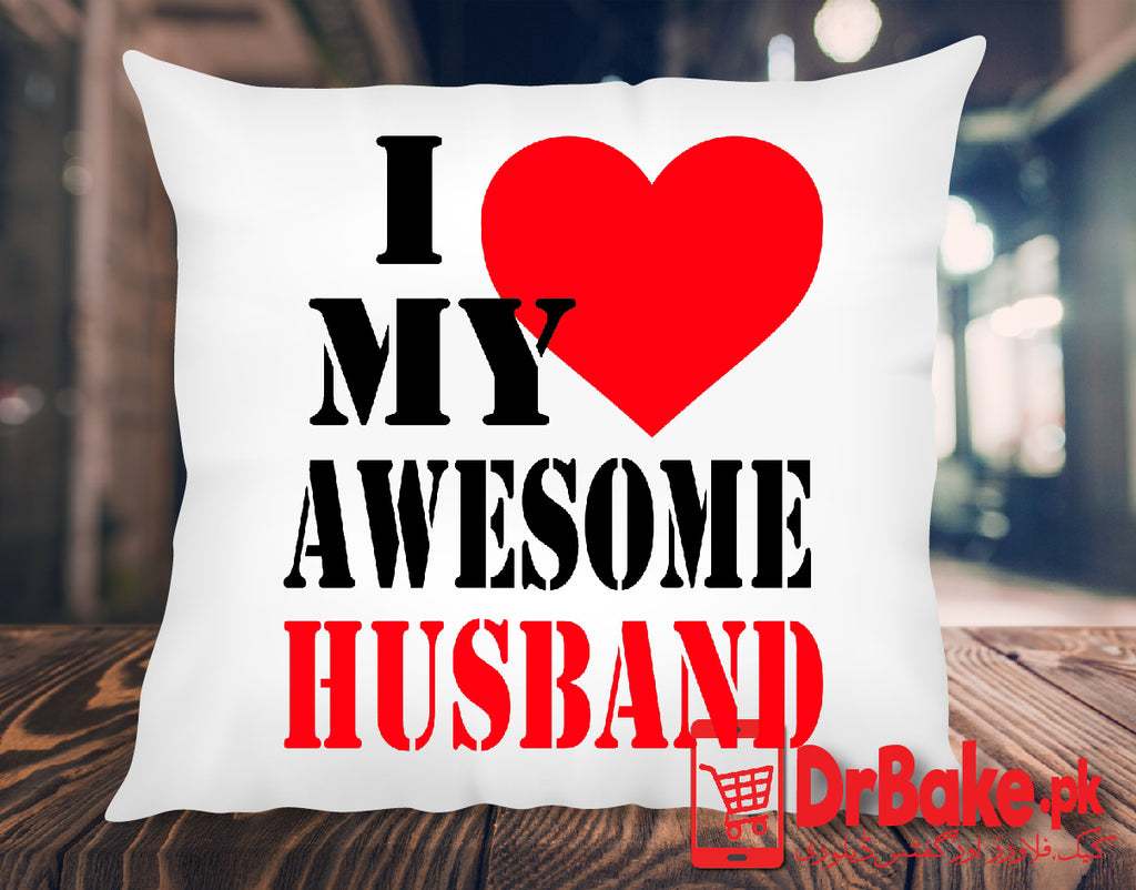 Send Cushion For Your Husband to Pakistan with DrBake.pk