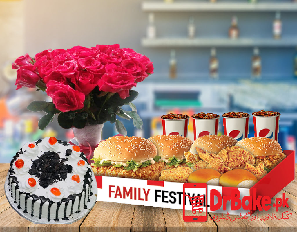 KFC Family Festival Deal - Dr Bake Pakistan Send gifts to Lahore, Karachi, Islamabad, Pakistan