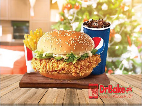 KFC's Zinger Combo Deal - Dr Bake Pakistan Send gifts to Lahore, Karachi, Islamabad, Pakistan
