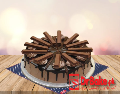 kitkat Cake-Holiday Inn-Lahore - Dr Bake Pakistan Send gifts to Lahore, Karachi, Islamabad, Pakistan