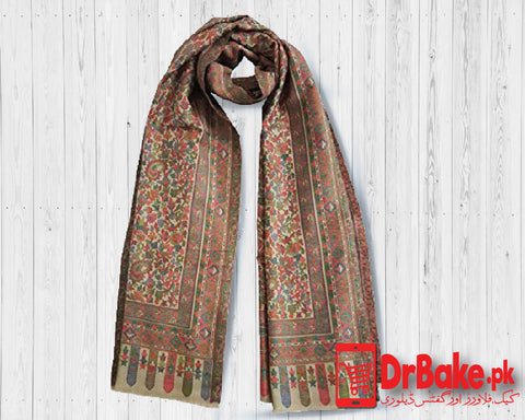 Send Brown Shawl to Pakistan with DrBake.pk