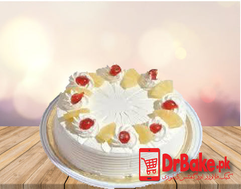 Send Pineapple Cake To Karachi of Ideal Bakery 1lb | DrBake.pk