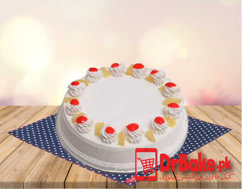Send Pineapple Cake To Lahore of Baba Bakers | DrBake.pk