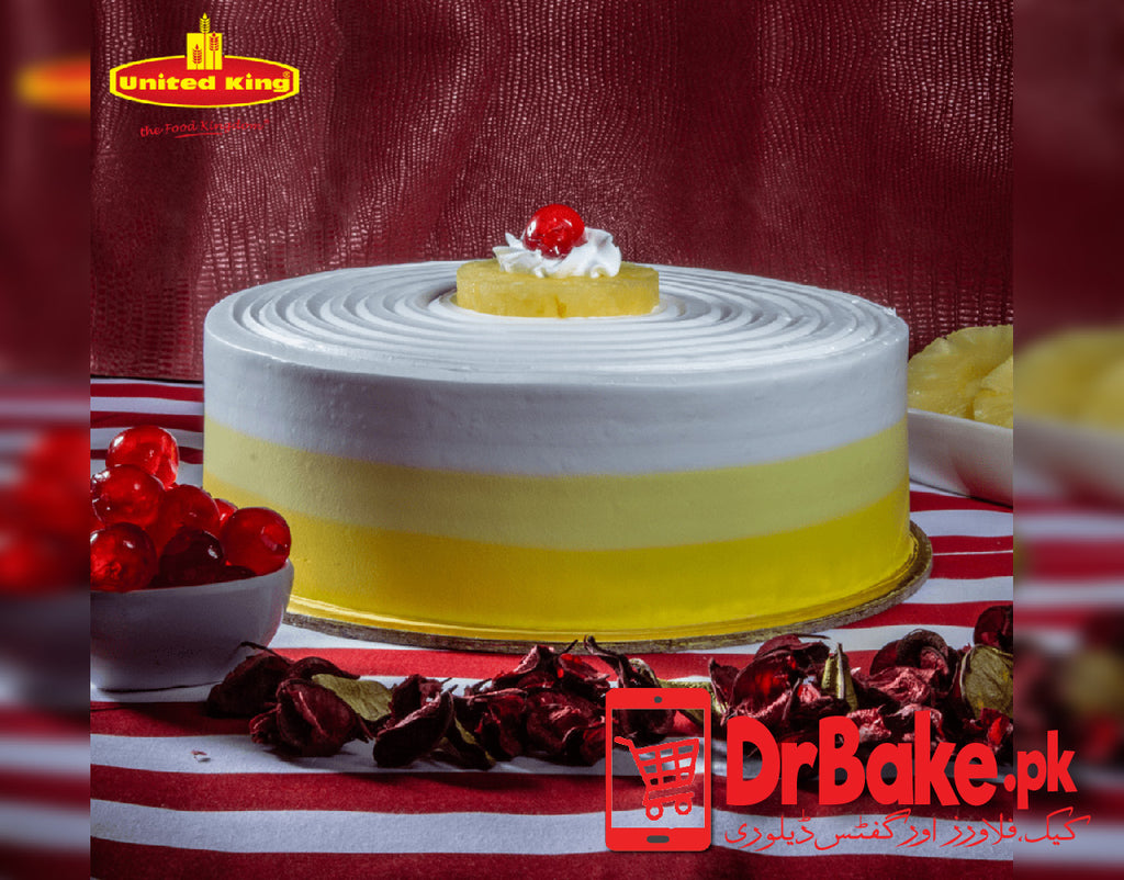 Pineapple Cake-Karachi-United king Bakery - Dr Bake Pakistan Send gifts to Lahore, Karachi, Islamabad, Pakistan