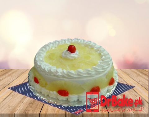 Send Pineapple Cake To Islamabad and Rawalpindi of Rahat Bakery 1lb | …