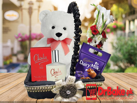 Send Teddy Bear Deal to Pakistan with DrBake.pk