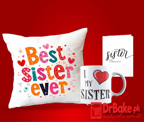 Sister Deal - Dr Bake Pakistan Send gifts to Lahore, Karachi, Islamabad, Pakistan