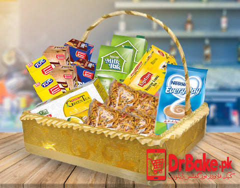 Send Tea Basket to Pakistan with DrBake.pk