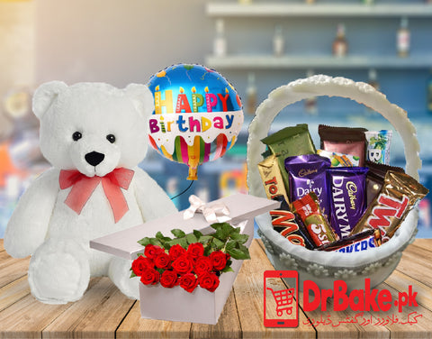 Prime Chocolate Basket Deal - Dr Bake Pakistan Send gifts to Lahore, Karachi, Islamabad, Pakistan