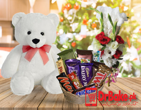 Send Small Teddy Bear Deal to Pakistan with DrBake.pk