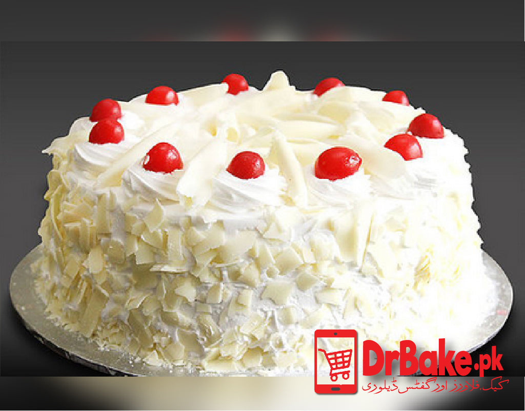 Send White Forest Cake To Lahore of Falettis Hotel | DrBake.pk