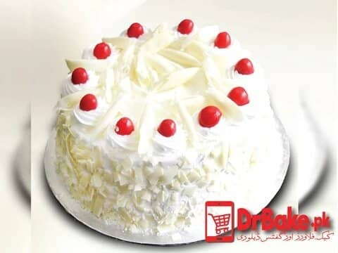 Send White Forest Cake To Islamabad and Rawalpindi with DrBake.pk