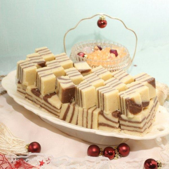 Send 2kg Chocolate Barfi - Bread & Beyond Sweets To Pakistan-DrBake.pk