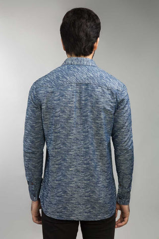 Blue Casual Shirt - Gul Ahmed