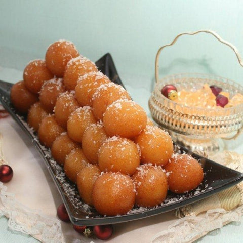 2kg Coconut Gulab Jamun - Bread & Beyond Sweets - Dr Bake Pakistan Send gifts to Lahore, Karachi, Islamabad, Pakistan