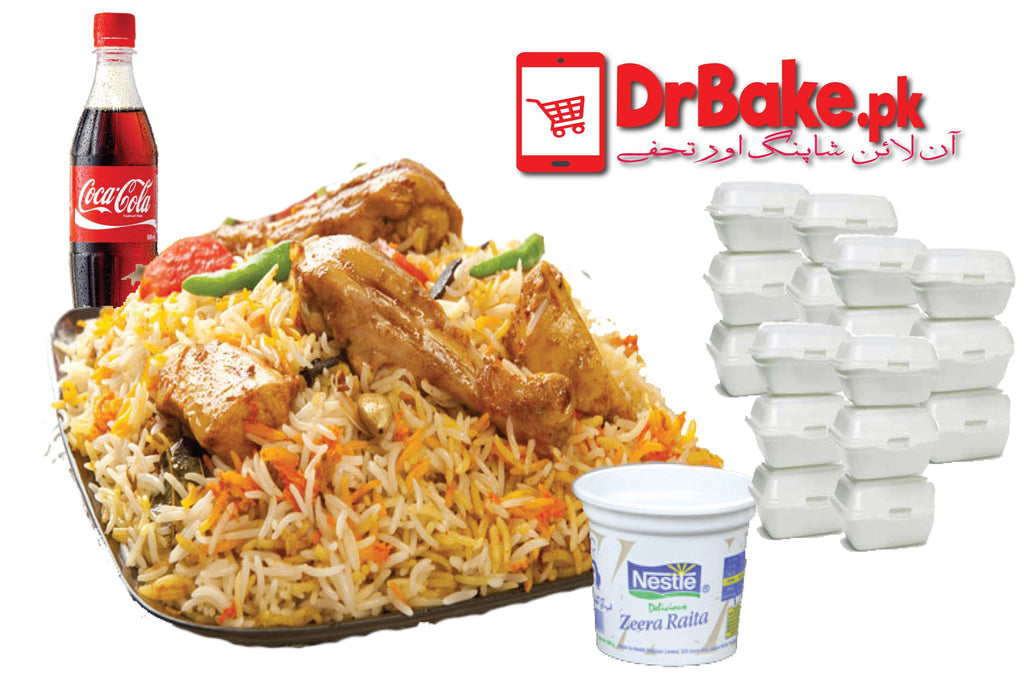 Dr Bake Pakistan Fruits Iftar Party Deal 40 BOXES for 40 People + 10 FREE Extra BOXES
