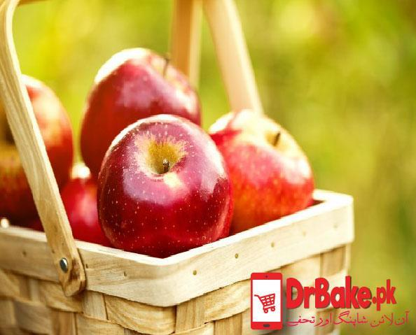 3 Kg Apple Basket - Dr Bake Pakistan Send gifts to Lahore, Karachi, Islamabad, Pakistan
