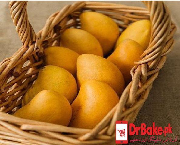5 Kg Mangoes Basket - Dr Bake Pakistan Send gifts to Lahore, Karachi, Islamabad, Pakistan