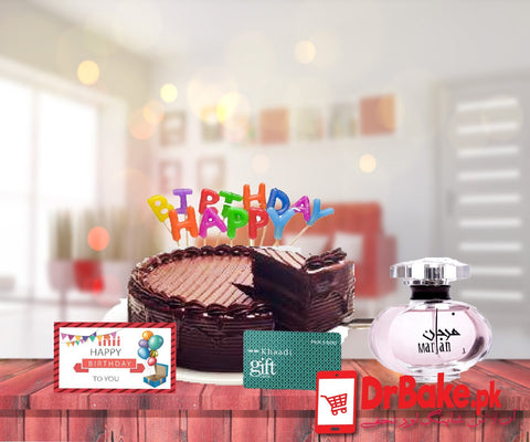 Birthday Deal For Women - Dr Bake Pakistan Send gifts to Lahore, Karachi, Islamabad, Pakistan