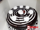 1lb Black Forest Cake-Baba Bakers-Lahore - Dr Bake Pakistan Send gifts to Lahore, Karachi, Islamabad, Pakistan