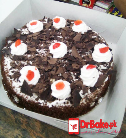 Black Forest Cake-Bread & Beyond-Lahore - DrBake.pk Send gifts to Lahore, Send gifts to Karachi, Send gifts to Islamabad, Send gifts to Rawalpindi