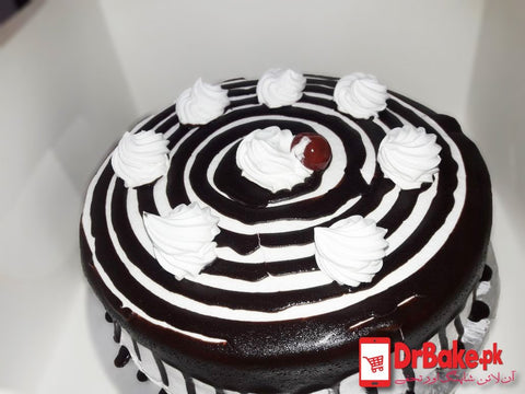 Black Forest Cake-Holiday Inn-Lahore - Dr Bake Pakistan Send gifts to Lahore, Karachi, Islamabad, Pakistan