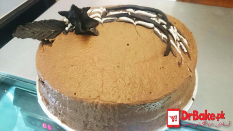 1lb Chocolate Fudge Cake-Kitchen Cuisine-Lahore - Dr Bake Pakistan Send gifts to Lahore, Karachi, Islamabad, Pakistan