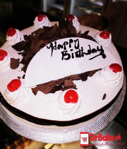 Black Forest Cake-Marriott Hotel-Karachi - Dr Bake Pakistan Send gifts to Lahore, Karachi, Islamabad, Pakistan